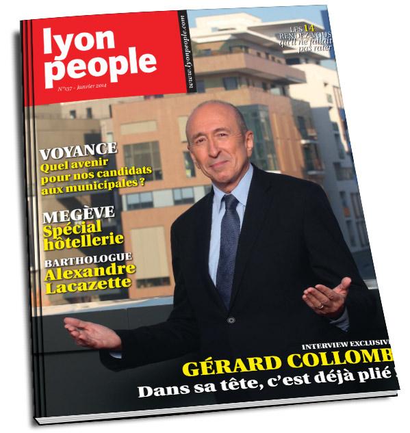 Lyon People spécial municipales 2014 avec Marmor
