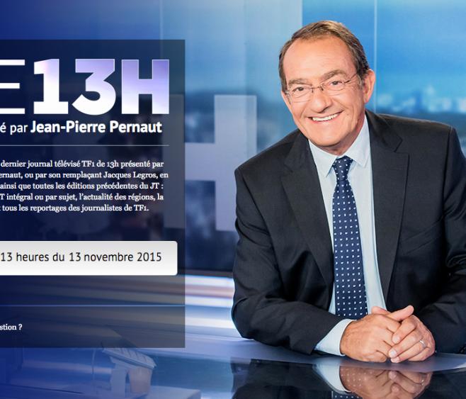 Marmor Voyant au JT de 13h sur TF1