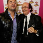Marmor voyant à la soirée du beaujolais nouveau au pop discothèque avec impact fm