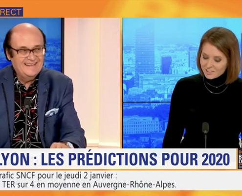 Marmor Voyant prédictions 2020 sur BFM Lyon